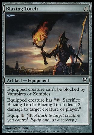 MTG : Blazing Torch : Equipment