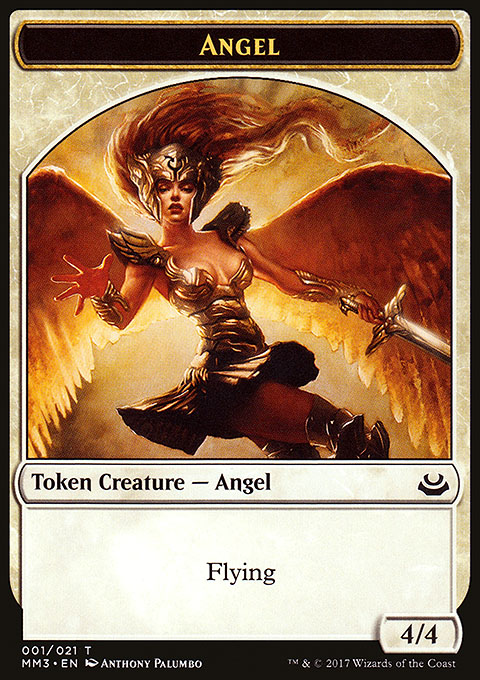 Angel token 4/4 flight